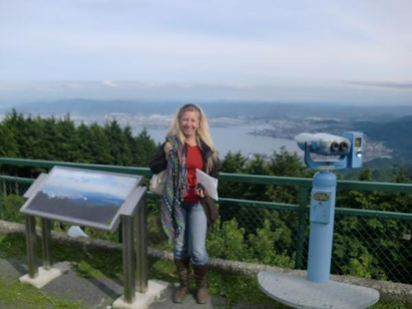 カウチサーフィン(ブラジル、レジーナ)、山頂からの眺め