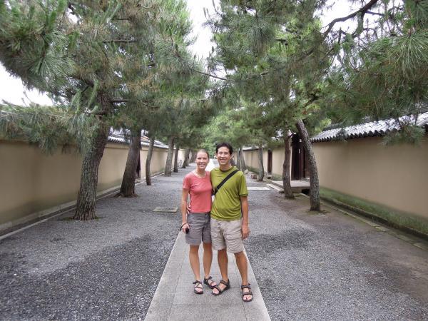 カウチサーフィン(アメリカ、マットとエリカ)、大徳寺