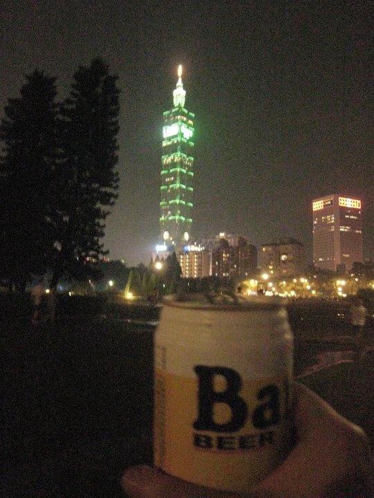 カウチサーフィン(台湾、ペギー)、台北101