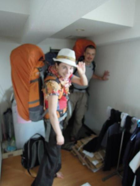 カウチサーフィン(チェコ共和国、ラル(ルーマニア)、ミハエル(スロバキア))、出発