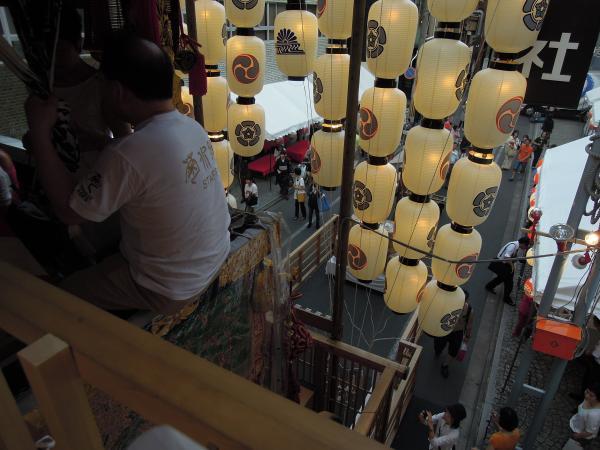 カウチサーフィン(ドイツ、グドラン)、祇園祭の山鉾その3
