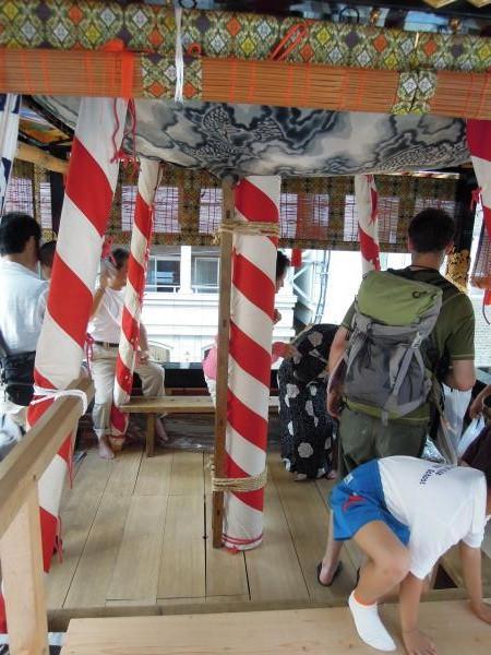 カウチサーフィン(ドイツ、グドラン)、祇園祭の山鉾その4