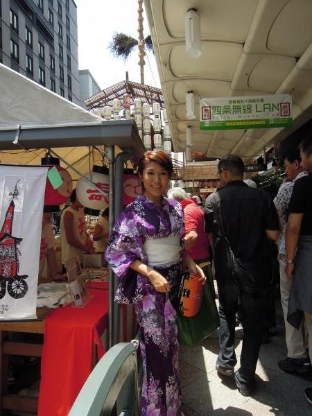 カウチサーフィン(香港、クマ)、祇園祭の山鉾と