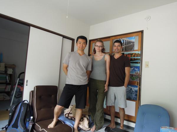 カウチサーフィン(コロンビア、ロドリゴ)、私の部屋にて。