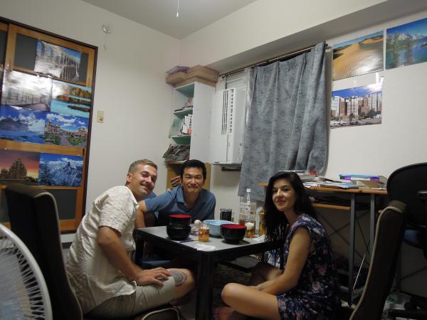 カウチサーフィン(スペイン、マリーとポール)、我が家にて