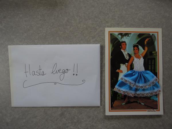 カウチサーフィン(スペイン、マリーとポール)、手紙