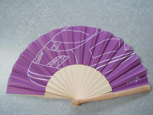 カウチサーフィン(スペイン、マリーとポール)、扇子