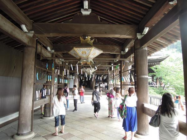 清水寺の風鈴と短冊