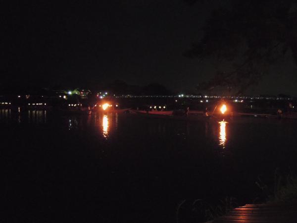 嵐山・桂川の鵜飼い