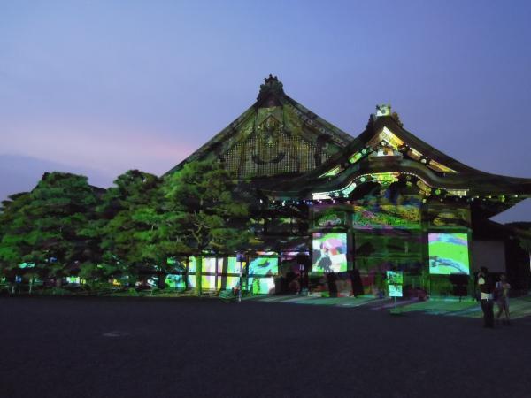 京の七夕(堀川会場)、二条城ライトアップ・その2