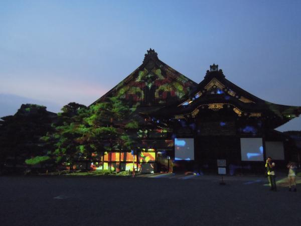 京の七夕(堀川会場)、二条城ライトアップ・その3
