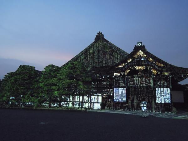 京の七夕(堀川会場)、二条城ライトアップ・その4