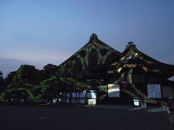京の七夕(堀川会場)、二条城ライトアップ・その5