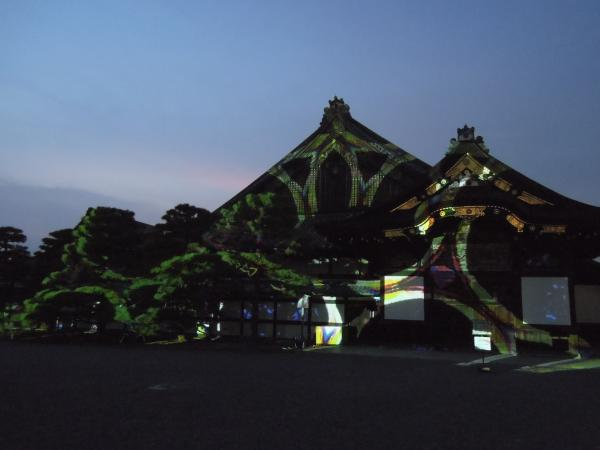 京の七夕(堀川会場)、二条城ライトアップ・その6