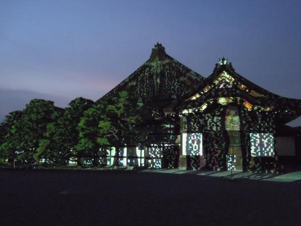 京の七夕(堀川会場)、二条城ライトアップ・その9