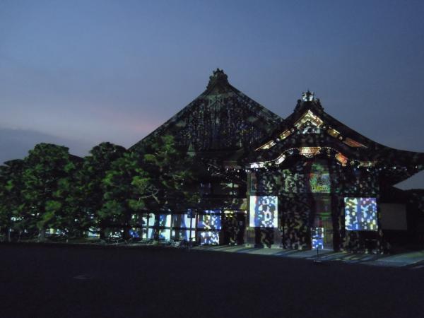 京の七夕(堀川会場)、二条城ライトアップ・その10