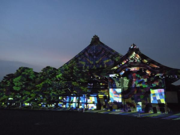 京の七夕(堀川会場)、二条城ライトアップ・その11