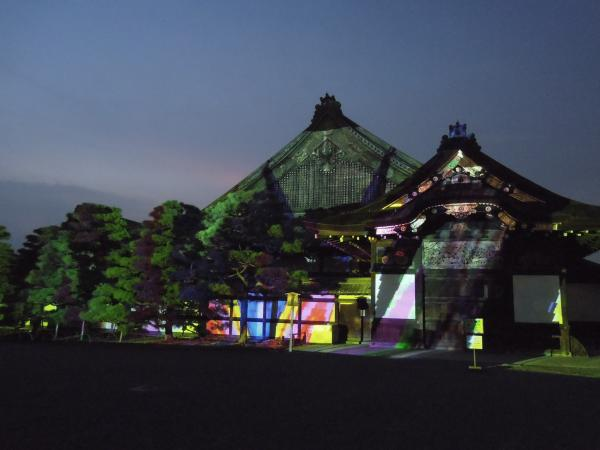 京の七夕(堀川会場)、二条城ライトアップ・その12