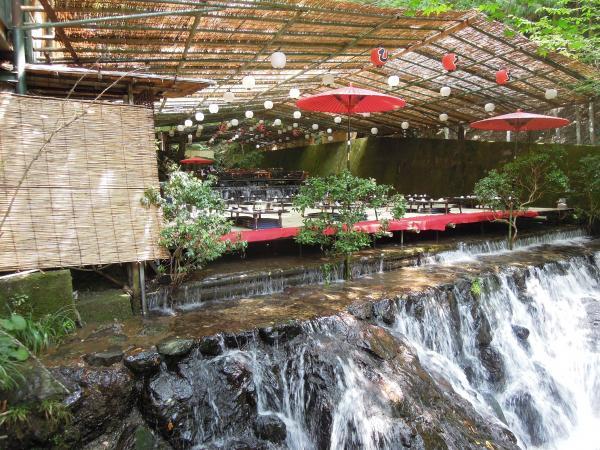 京都・貴船の川床