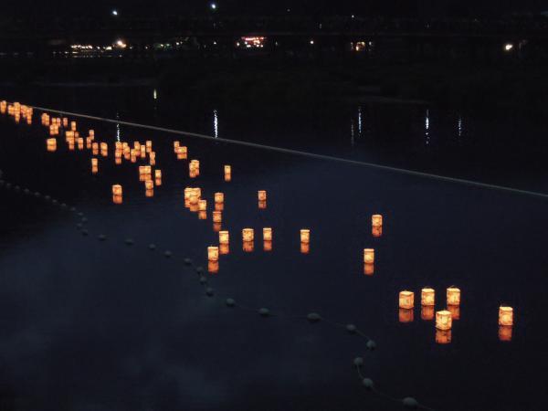 嵐山・灯篭流し・その3