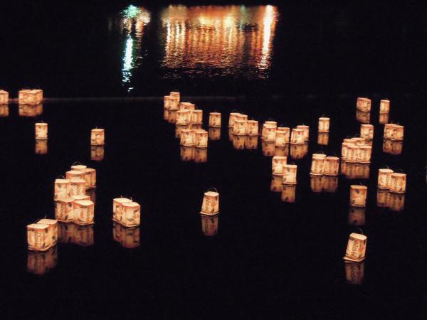 嵐山・灯篭流し・その5