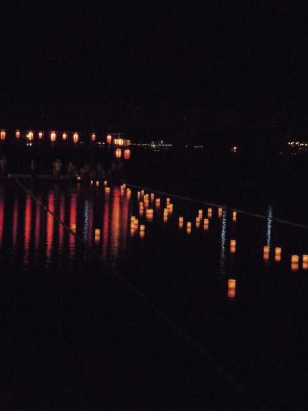 嵐山・灯篭流し・その6