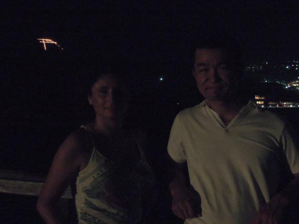 カウチサーフィン(スペイン)、ソレと私と鳥居形