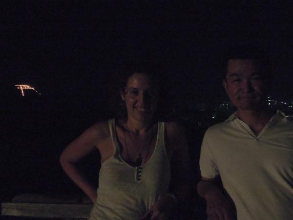 カウチサーフィン(スペイン)、マリアと私と鳥居形