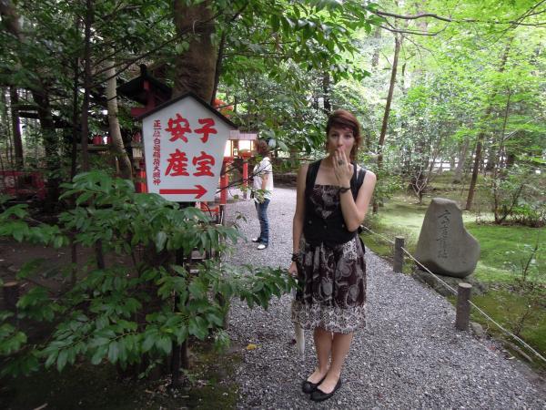 カウチサーフィン(オーストラリア、ヴァネッサ)、野々宮神社