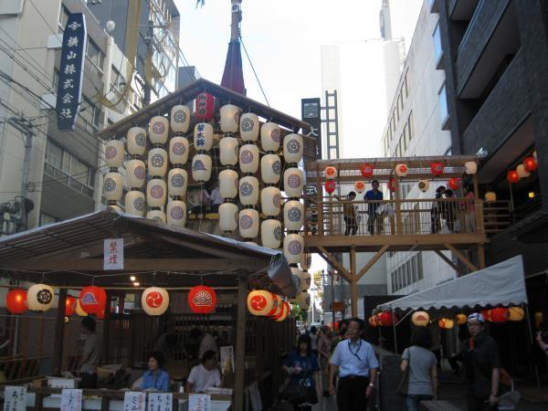 カウチサーフィン(ドイツ、グドラン)、祇園祭の山鉾その8