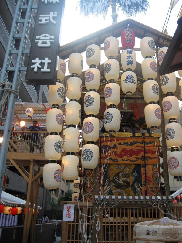 カウチサーフィン(ドイツ、グドラン)、祇園祭の山鉾その9