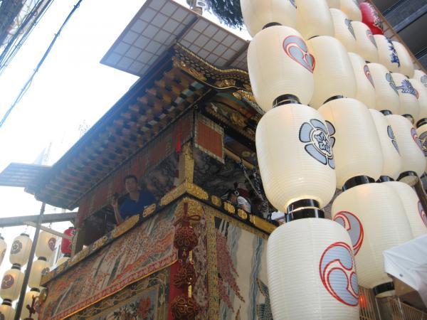 カウチサーフィン(ドイツ、グドラン)、祇園祭の山鉾その11