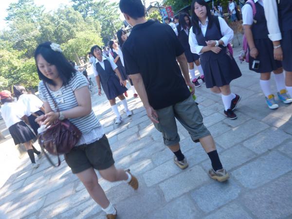 東大寺の帰り道