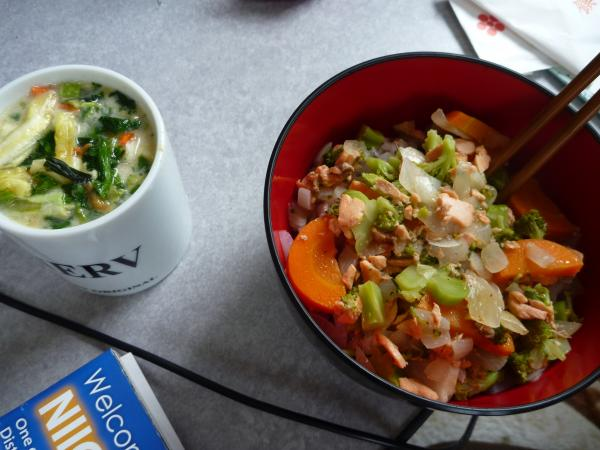 ルカの作った料理