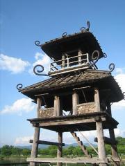 唐古・鍵遺跡楼閣