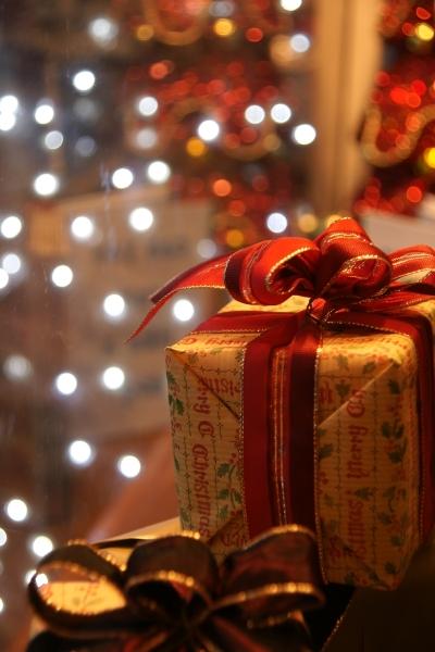 クリスマスプレゼント写真