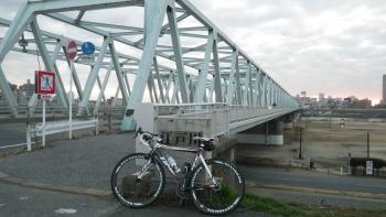 002いつもの江戸サイ市川橋に到着