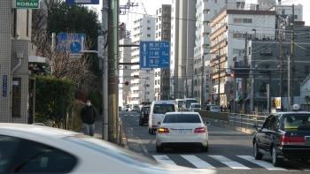 011第一京浜を横浜方面へ