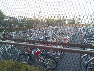 自転車の 盗難自転車引き取り : ... 自転車を集めてある場所のこと