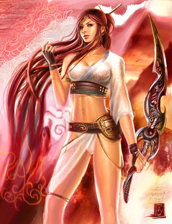 6. Nariko (Heavenly Sword)