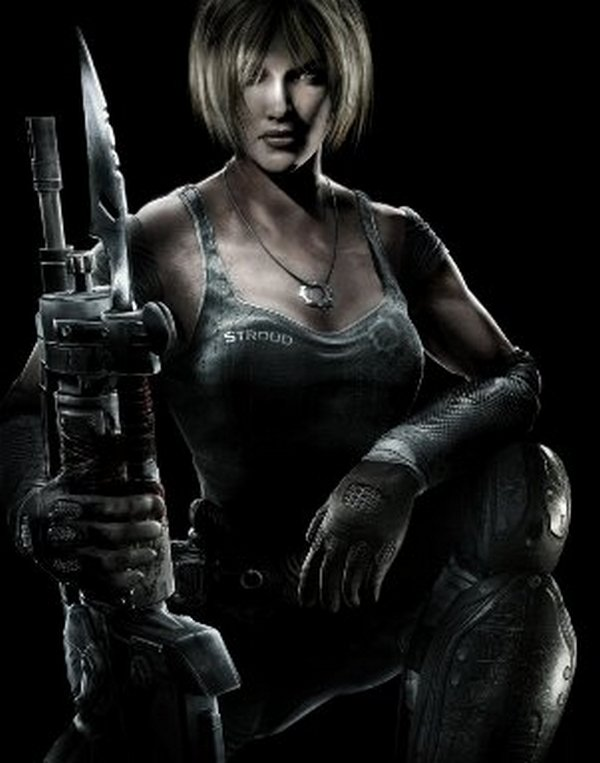 7. Anya Stroud (Gears of War Series)