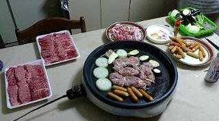20120624実家にて夕食