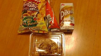 2012ほたる祭りお菓子