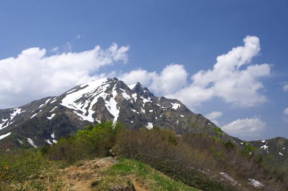 天神平から見る谷川岳