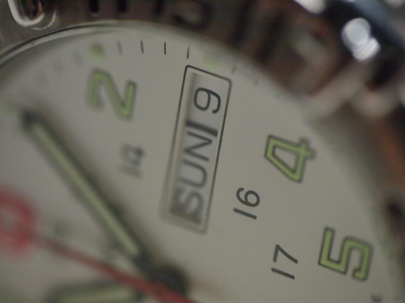 初マクロ O氏の腕時計