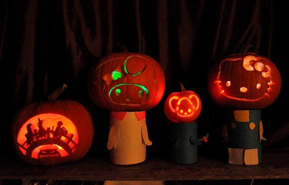 2012Pumpkin carving6