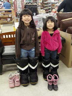 ガリバーの靴