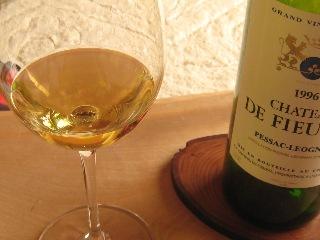 2011 お節 ワイン フューザル ブラン 96