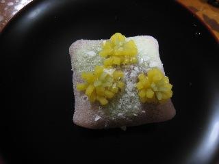 福の花  焼皮  鶴屋吉信  20110107