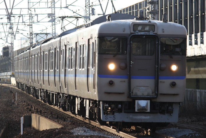 113系ミハ車6Bの宝塚線普通